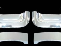 Накладки на ручки (Передние двери, пласт) Hyundai Starex H1 H200 1998-2007