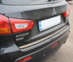 Кромка багажника (нерж.) Mitsubishi ASX 2010/2016