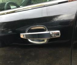 Мильнички под ручки (4 шт, нерж) Chevrolet Orlando 2010