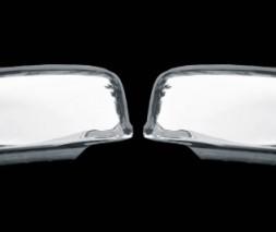 Накладки на зеркала (2 шт) Mitsubishi Lancer 9 2004-2008