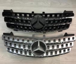 Mercedes ML W164 Передняя решетка серая