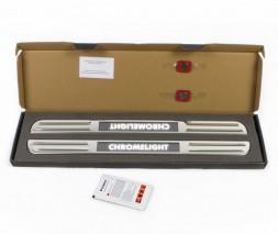 Беспроводные накладки на пороги LED (2 шт) Volkswagen Amarok