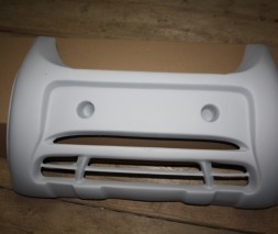 Передняя губа (под покраску) Volkswagen Caddy 2004-2010