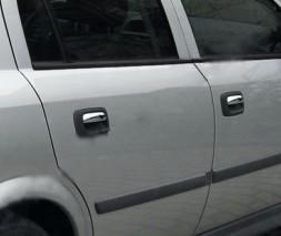 Накладки на ручки (4 шт, нерж.) Opel Zafira A 1998-2006