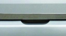 Кромка багажника (нерж.) Renault Fluence 2009