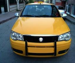 Кромка капота (нерж.) Fiat Albea 2002