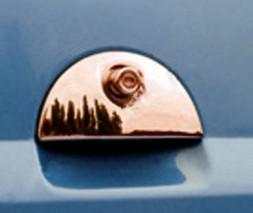 Накладка на заднюю ручку (нерж.) Opel Meriva 2002-2010