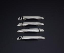 Накладки на ручки (нерж) Peugeot Expert 2017