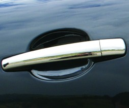 Peugeot 208 Хром накладки на ручки из стали 4 штуки кармос