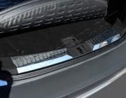 Накладка на порог багажника (2 части, нерж) Ford Kuga 2013-2019