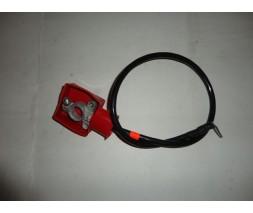 Кабель плюс АКБ усиленный (клемма:латунь штампованная, сечение 16 мм.кв) ЗАЗ 1102 (15804)