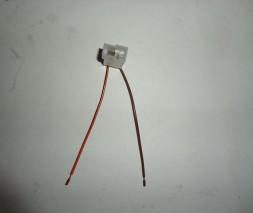 Разъем (колодка с проводами) Т-образный (папа) (универсальный) (22590)