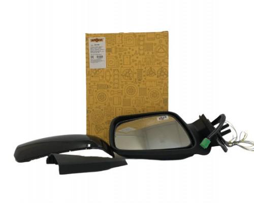 Зеркало ВАЗ 1118 наружное заднего вида правое н.о.(корпус ПРИОРА) электро с повторителем АРОКИ