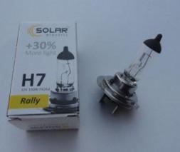 "Лампа Н7 12v 100wt Starlight + 30% (коробка) ""SOLAR"""