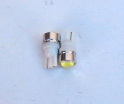 Светодиодная лампа передних габаритов T10 - HP-1W Lens (1-контактна 12V)