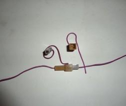 Соединение 1-контактное микро (приемная и ответная части) (22101)