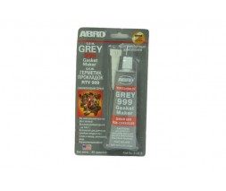 Герметик прокладок ABRO 9-АВ Silicon (бол) 85 гр. серый Victor Reinz