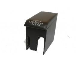 Подлокотник Chevrolet Lacetti (с вышивкой, черный)
