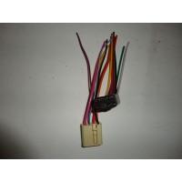 Разъем (колодка с проводами) электростеклоподъемника (универсальный) (22300)