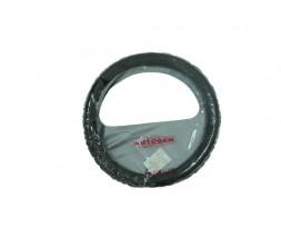 Оплетка руля кожа СК 002 BK S Автоген