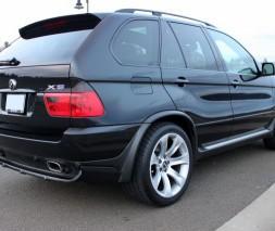 Накладки на арки (под покраску) BMW X5 E53 1999-2006