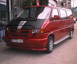 Губа на решетку (под покраску) Volkswagen T4 Caravelle/Multivan