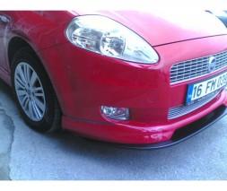 Передний бампер (накладка, под покраску) Fiat Punto Grande/EVO 2006и 2011