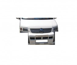 Передняя накладка губа (под покраску) Volkswagen T5 Transporter 2003-2010