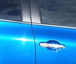 Накладки на ручки (4 шт, нерж.) Nissan Note 2013