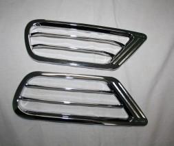 Накладки на задние воздуховоды (2 шт, пласт) Lexus LX470