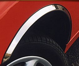 Накладки на арки (4 шт, нерж) BMW 7 серия E-38 1994-2001