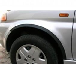 Накладки на арки (4 шт, черные) Honda HR-V 1998-2006