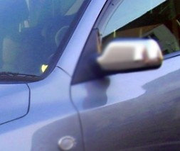 Накладки на ручки (4 шт, нерж) Mazda 2 2003-2007