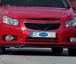 Chevrolet Cruze Окантовка противотуманок OmsaLine
