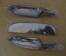 Chevrolet Lanos Хром накладки на ручки хром