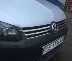 Volkswagen Caddy 2010-2014 Накладки на решетку OmsaLine