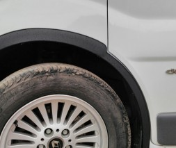 Opel Vivaro 2007-2015 Накладки на арки пластиковые