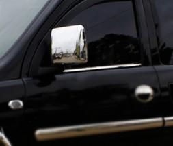 Наружняя окантовка стекол (2 шт, нерж.) Opel Combo 2002-2012