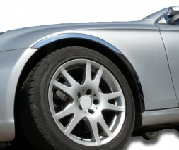 Накладки на арки (4 шт, нерж) Alfa Romeo 156 1997-2007