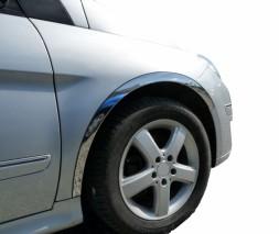 Накладки на арки (4 шт, нерж) Mercedes B-klass W246