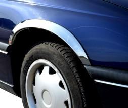 Накладки на арки (4 шт, нерж) Opel Omega B 1994-2003