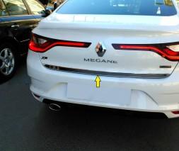 Кромка багажника (Sedan, нерж) Renault Megane IV 2016