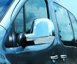 Toyota Proace 2017 Накладки на зеркала (2 шт., пласт.) Carmos