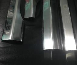 Накладки на внутренние пороги (4 шт., нерж.) Chevrolet Cruze 2009