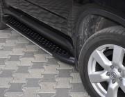 Пороги Audi Q7 AB005 (Artemis Black)