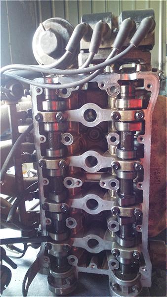 Снятие головки блока цилиндров на автомобиле Daewoo lanos 1.6 16 - фото1